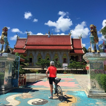 The temples along the way are beautiful - the perfect places for a quick break