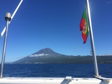 Pico and the Portugese flag