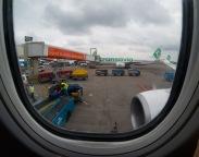 Leaving Amsterdam...