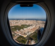 ...arriving in Lisbon...