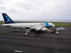 Arrived on the Azores!