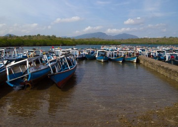 The boats all Pemuteran divecenters were using