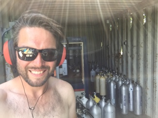 Filling tanks, HOT and noisy!